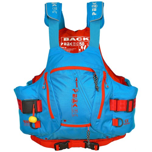 Gilet moniteur River guide, avec harnais, de peak uk.