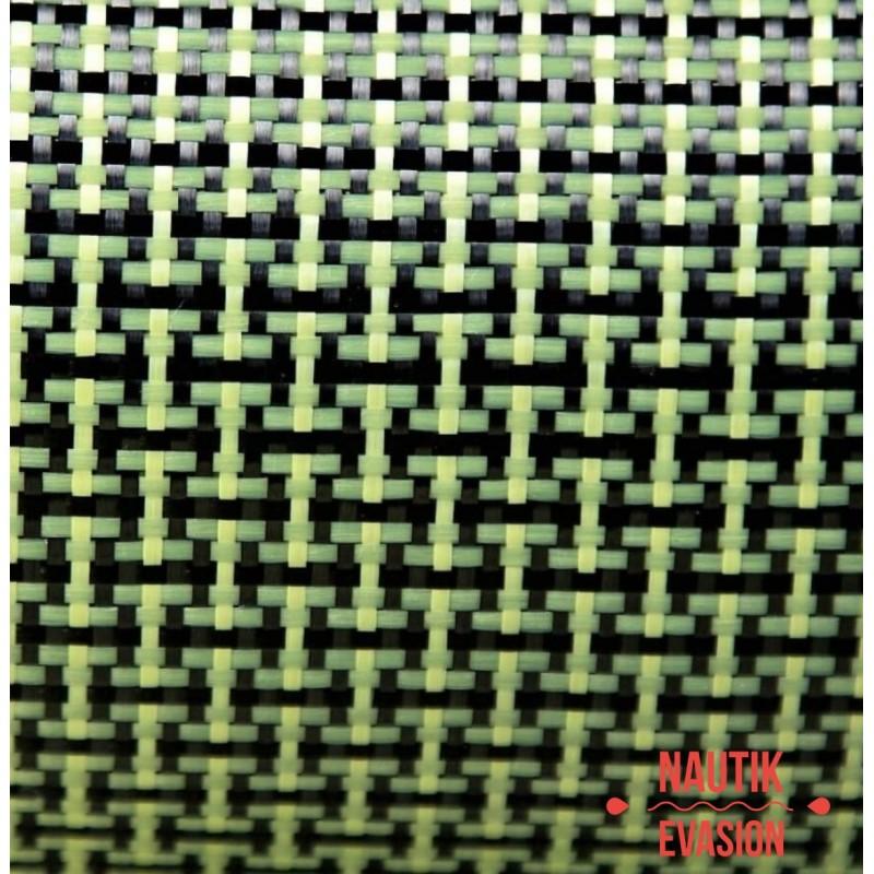 Tissu kevlar / carbone 165 gr/m²