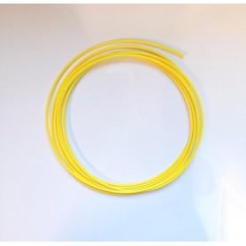 Fil plastique PE jaune 5m pour soudure de réparation