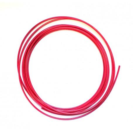 Fil plastique PE rouge 5m pour soudure de réparation