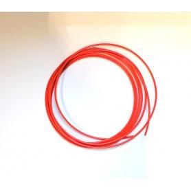 Fil plastique PE orange 5m pour soudure de réparation