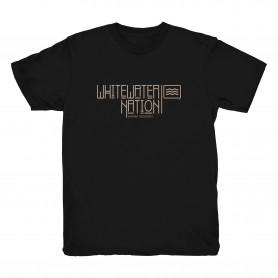 "T-shirt ""Whitewater Nation"" - Kayak Session x Dewerstone"