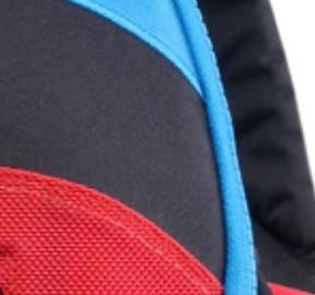 Bleu noir rouge